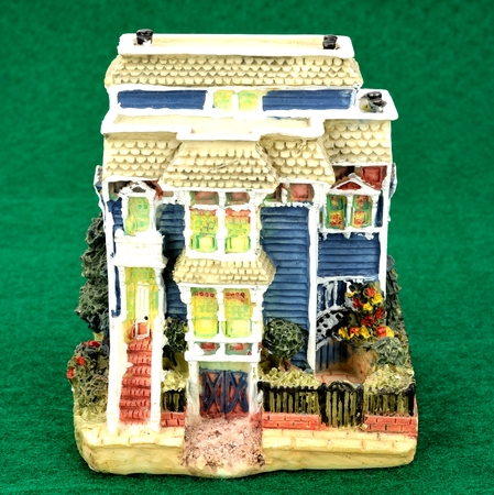 of miniature: Miniature of governor
