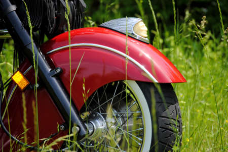front end: Indian Motorcycle