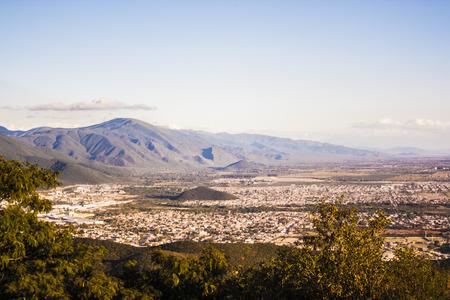 aereal: Tucuman, ARG Stock Photo