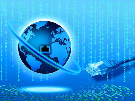 Concept Internet Banque d'images - 8077427
