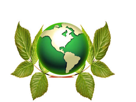 3d earth , ecology concept Stock Photo - 8164167
