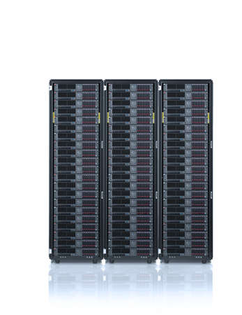 web hosting ,servers rack,networking concept
