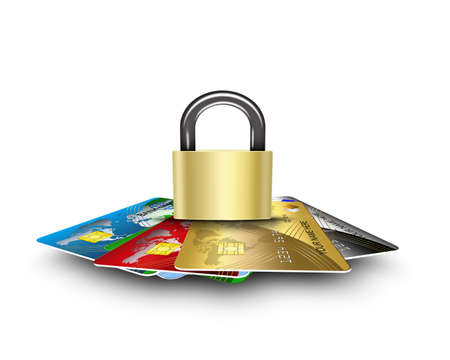 cards security Stock Photo