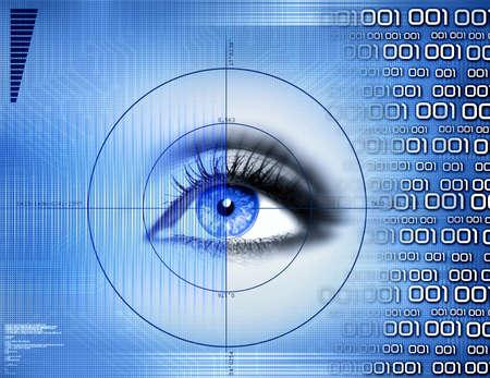 display retina:  scanning