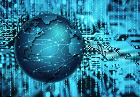 circuitboard: astratto tecnologia