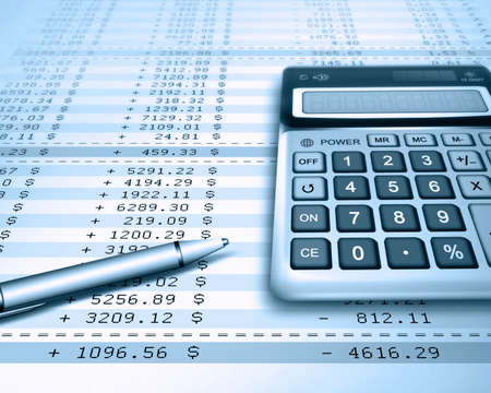 calculating: calculation Stock Photo