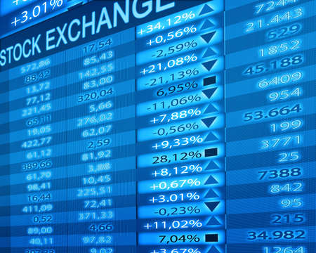 stock exchange Stock Photo - 10545263