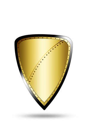 golden shield: shield