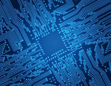 abstract circuit photo