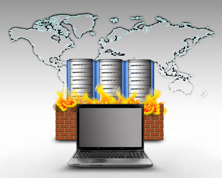 internet firewall protection photo