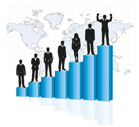 Leiter und Hierarchie