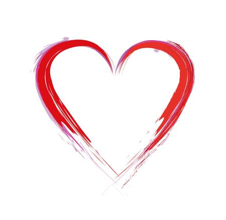 paint heart Stock Vector - 15135601