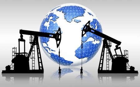 yacimiento petrolero: los recursos mundiales de petróleo