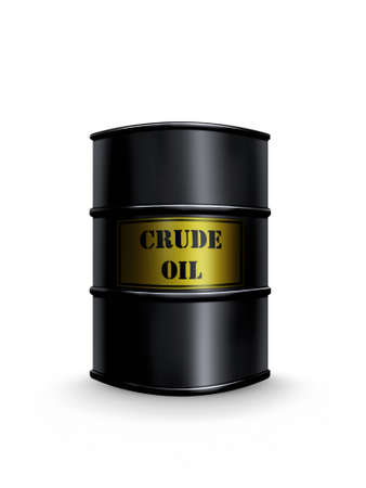 crude oil barrel photo