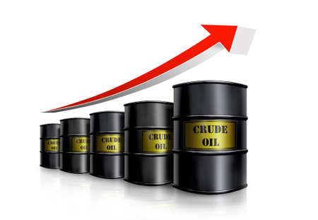 crude: oil barrel cost