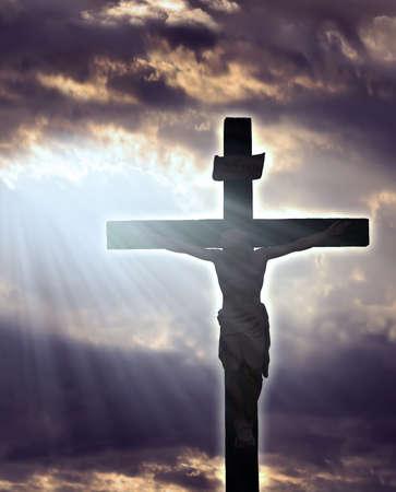 Jesus Christ Crucifixtion 版權商用圖片