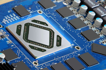 transistor: microprocesador futurista y componentes electrónicos
