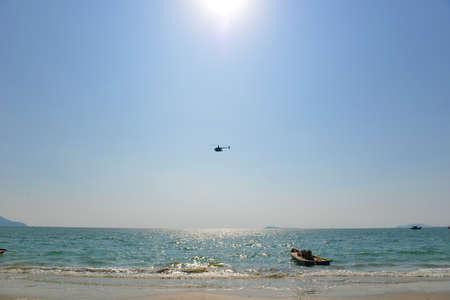 and sanya: Sanya beach