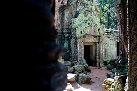 siem: Temples near Angkot Wat in Siem Reap, Cambodia.