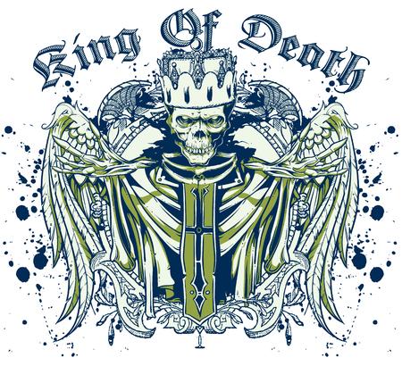 King of death Illustration