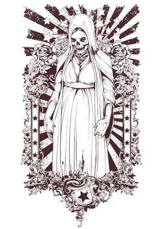Muerte Ilustrace