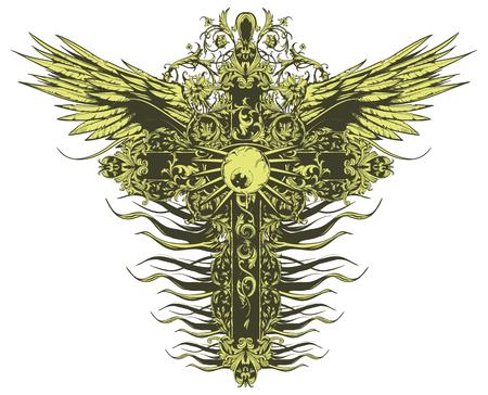 Cross Ilustracja