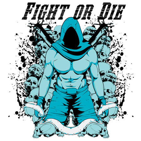 Fight or die Illustration