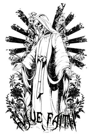 Faith Ilustracja