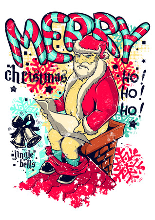 Bad Christmas Stock Illustratie