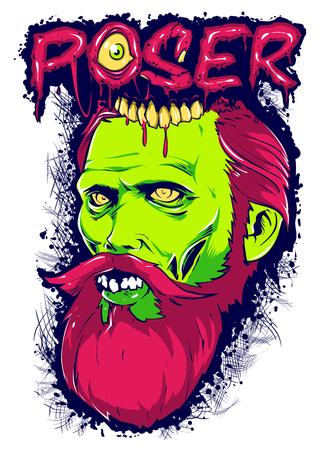 Zombie poser