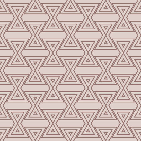 Geometric background. Triangle seamless pattern Illustration