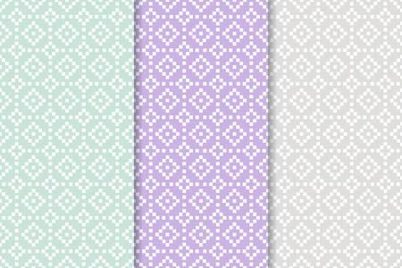 Geometric shape background. Seamless pattern Illustration