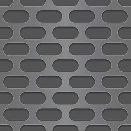 perforated: Metal perforated background. Seamless pattern Illustration