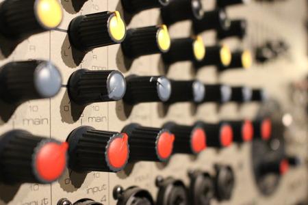 acoustics: Mixer close-up