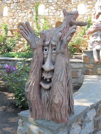 Fantasy Creature Wooden Sculpture