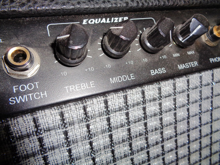 amplify: Vintage Guitar Amplifier Knobs