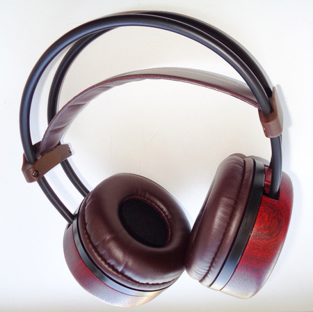 Vintage Wooden Headphones