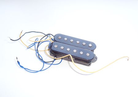 Vintage Electric Guitar Humbucker Pickup Stock Photo