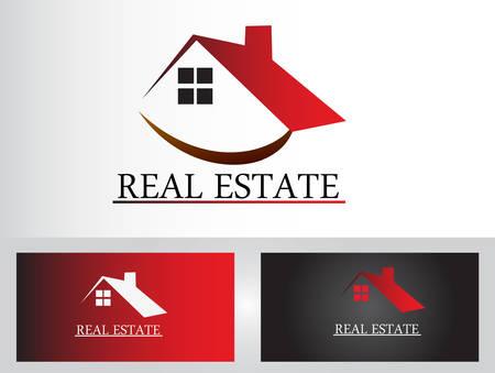 roof line: Real estate logo