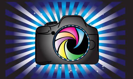 Camera logo.Photography logo design