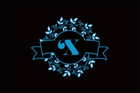 Elegant Monogram Letter X Logo Design