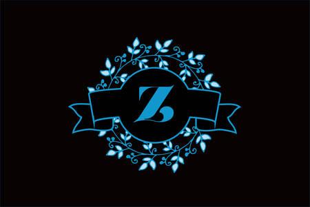 Elegant monogram letter Z icon design. Ilustrace