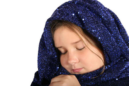 a beautiful young middle eastern child