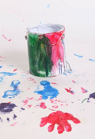 paint and bucket Stock Photo - 782028
