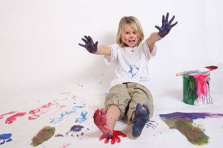 mess: painting everything