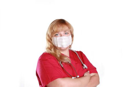 nursing staff: nursing staff member with
