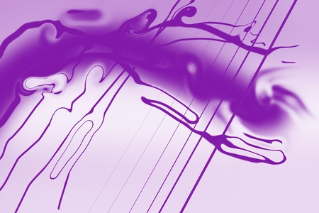 Purple background with slight smokey look  Some straight lines  Stock Photo