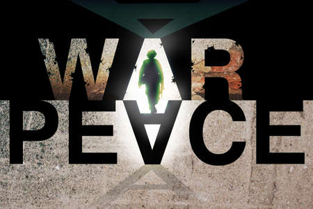 opposition: War and Peace Ideology. Conflict Concept.