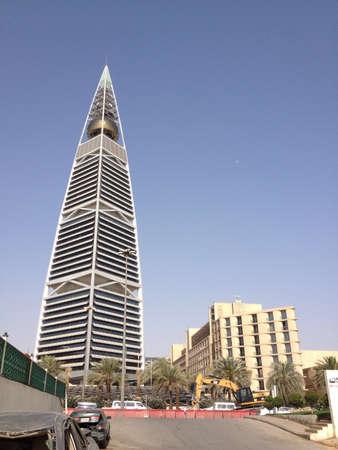 A modern skyscraper in Riyadh Saudi Arabia