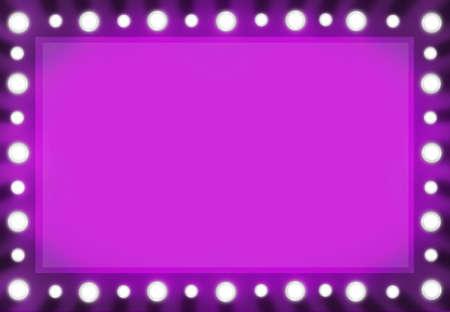 바이올렛 핑크 뷰티 미러 배경